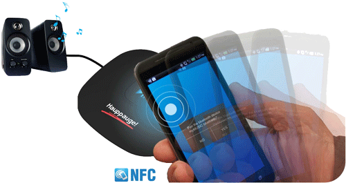 myMusic Bluetooth NFC