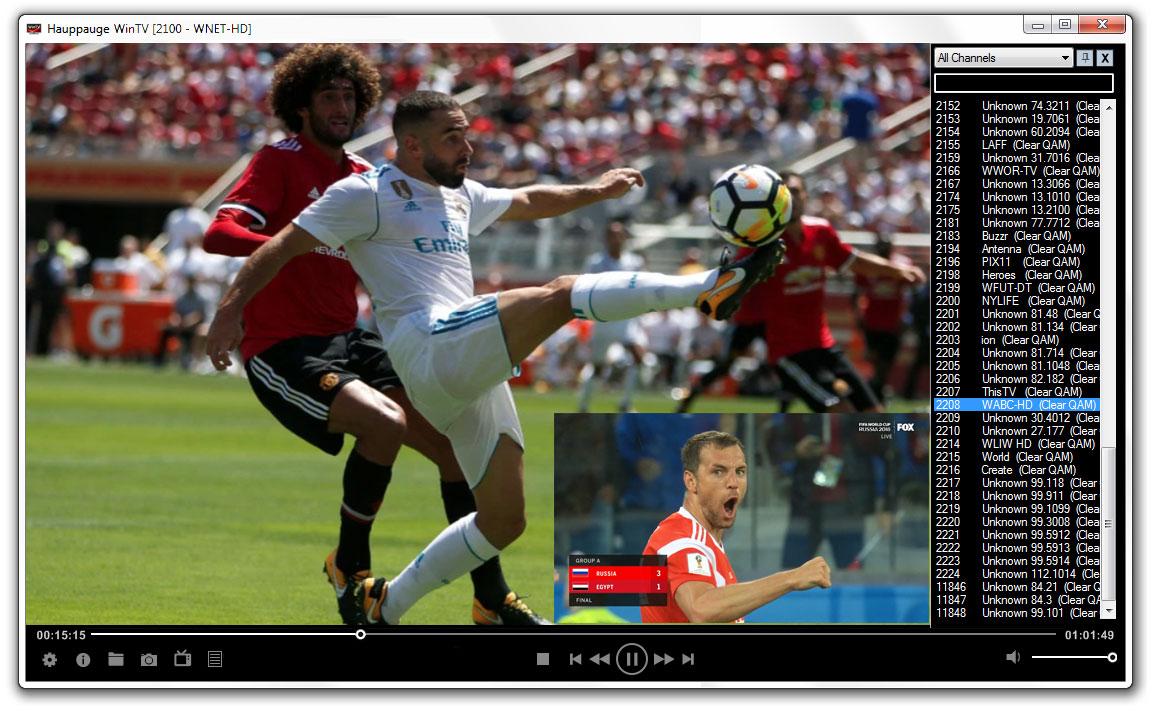 WinTV-dualHD: Two TV receivers. Three TV formats!